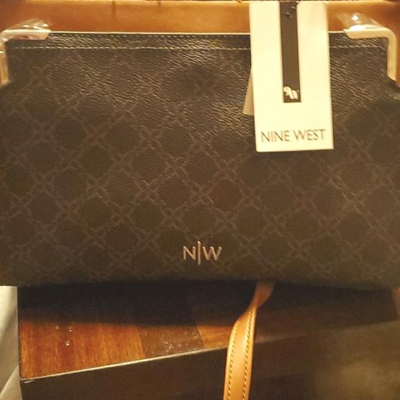 Nine West Brown Satchel